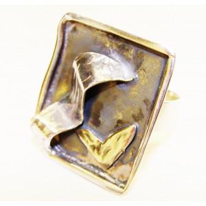 Silver ring  3D art
